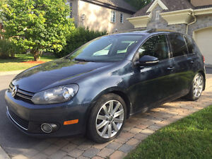 2012 Volkswagen Golf Highline TDI DSG Bicorps