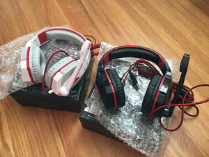 Pro Gaming headsets ($30 each or $50 both)