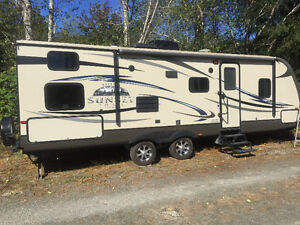 26 ft travel trailer sunset rise by crossroads