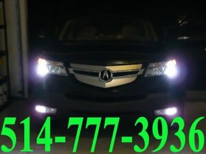ACURA CONVERSION KIT HID XENON CAR HEADLIGHTS INSTALLATION