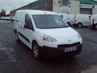 Peugeot Partner 716 S 1.6HDI 92ps Crew Van DIESEL MANUAL WHITE (2014)
