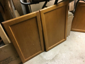 Kitchen Cabinet doors used but in good shape.