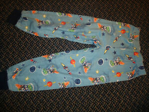 Boys Size 4 Space Gator Sleep Pants