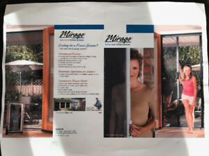 Retractable Screen from Benjamin Moore (White) $450 New, in grea