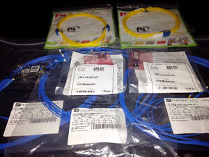 fiber optic patch cords LC-LC and Cisco GBIC GLC-LH-SMD