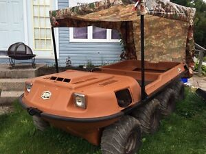 1990 Argo 8x8 ready to roll or float