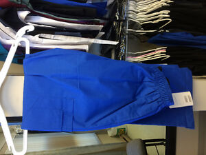 LPN royal blue and Nurse uniforms