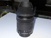 Objectif Canon 18-135 stm is