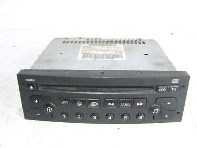 CITROEN C8 PEUGEOT 807 RADIO CAR AUDIO AUTORADIO 96488012XT , gebraucht gebraucht kaufen  Versand nach Germany
