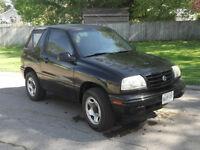 2001 Suzuki Vitara JX Convertible