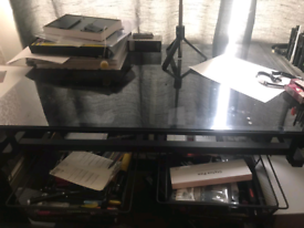 Art desk and chair