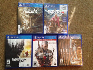 BRAND NEW PS4 GAMES - FALLOUT 4 + FAR FRY 4
