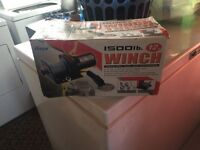 1500lb winch for sale never used