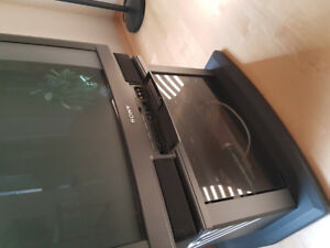 Sony tv with stand