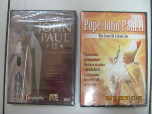 PopeJohnPaul II Statesman Of Faith&The Story Of A Holy Life DVDS