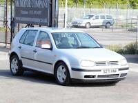 Volkswagen Golf 1.6 SE, Silver, Long Mot, 5 Door Hatchback