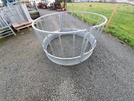 Iae sheep round bale ring feeder like new tractor