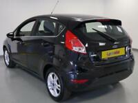 2017 Ford Fiesta 1.0 EcoBoost Zetec 5dr Powershift Petrol black Automatic