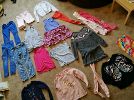 Huge Bundle of girls clothes Age 7-8 years PLUS swimsuit