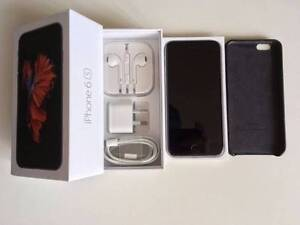 iPhone 6S 128GB Space Grey+Warranty+Genuine Apple Leather Case Sydney City Inner Sydney Preview