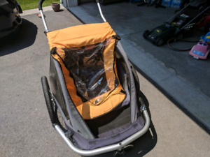 Two Seat Stroller (Attachable to Bicycles)