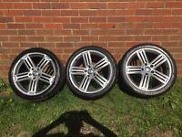 VW Golf R Mk6 genuine alloy wheels SET OF 4