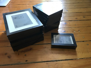 Lot of IKEA Black Ribba Picture Frames Cadre Still in Packaging