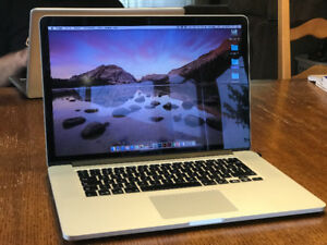 MacBook Pro Retina 15 - Late 2013