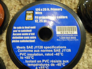 Primary Wire #12 16 18 gauge x 100ft spools New Bulk Lot  Bulk Kitchener / Waterloo Kitchener Area image 3