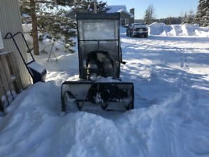 Lawn Tractor Snowblower