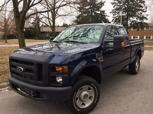 2008 Ford F-250 Super Duty 4x4 DIESEL 115K NO ACCIDENTS