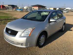 2008 NISSAN SENTRA   (  LOW KMS , NO ACCIDENT )