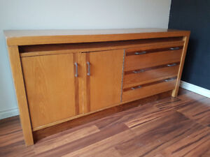 Solid Wood Dresser (very large)
