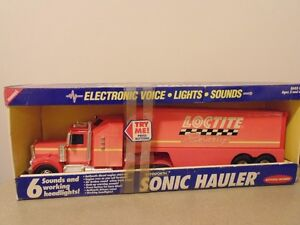 Loctite Racing Buddy L Kenworth Pressed Steel Semi Tractor Trail