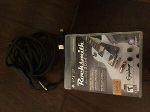 Youth Electric and Acoustic Guitars plus Rocksmith PS game
