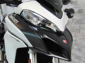 Ducati Multistrada 950 2018 white ducati luggage and FSH