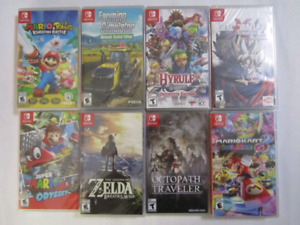 Nintendo Switch Games with Extra $15 to $70
