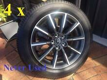 Toyota 86 Subaru BRZ new alloy wheels and tyres GT GTS Yokahama Cloverdale Belmont Area Preview