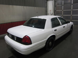 2010 White Ford Crown Victoria Police Interceptor   112000kms