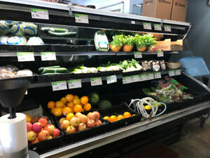 Commercial produce cooler
