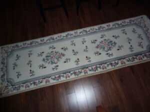 Indian Floral Aubusson Runner
