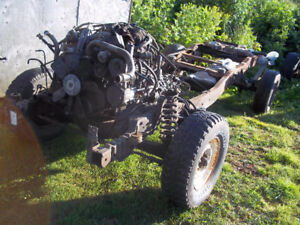 1992 -1996 southern f150 complete frame