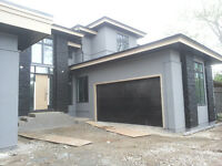 Acrylic stucco and stone, all kinds, EiFS, paper wire!