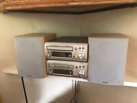 Denon stereo system