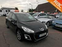 2011 Peugeot 308 SW 1.6e-HDi 112 DPF SS EU5 Allure 6Spd Diesel black Manual