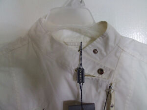 Mabrun Women's white fall jacket Size 44 XS New with tags London Ontario image 3