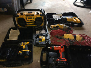 Ensemble d'outils dewalt et black and decker West Island Greater Montréal image 10