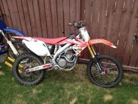 2005 crf450r rebuilt with receipts