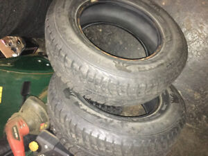2 winter tires for sale 225/70/16