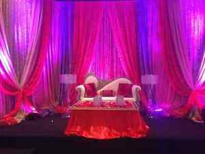 WEDDING LOVESEAT BRIDE AND GROOM CHAIRS FOR RENTAL